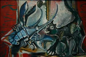 Пабло Пикассо. Кот и омар