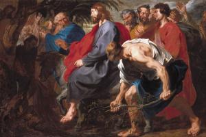 Антонис ван Дейк. Вход Господень в Иерусалим