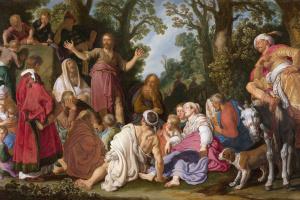 Проповедь Иоанна Крестителя