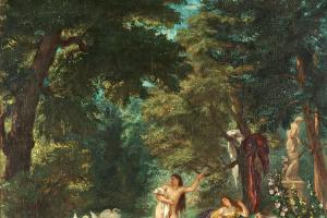 Eugene Delacroix. Bathers