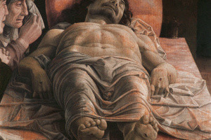 Андреа Мантенья. Мертвый Христос (Оплакивание мертвого Христа)