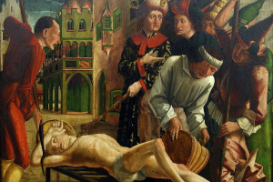 Michael Paher. The Martyrdom Of St. Lawrence