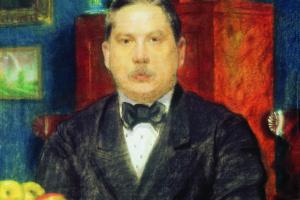 Борис Михайлович Кустодиев. Портрет К.А. Сомова