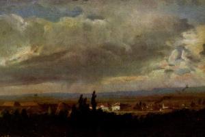 Пейзаж с грозой под Дрезденом