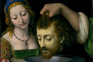 Андреа Соларио. Саломея с головой Иоанна Крестителя