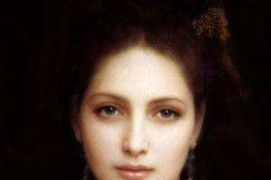 Адольф Вильям Бугро. Женский портрет