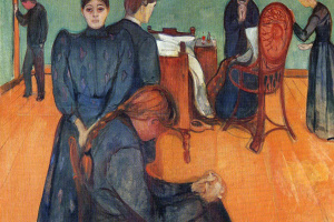 Edvard Munch. Death in the sickroom
