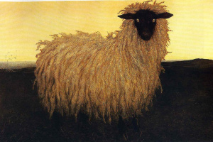 Jamie Wyeth. Portrait Of A Lady