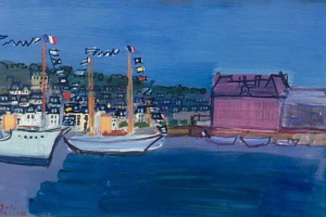 Raul Dufy. 14 July in Deauville