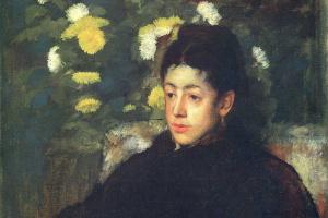 Эдгар Дега. Портрет мадемуазель Мало
