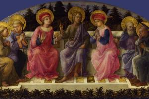 Фра Филиппо Липпи. Семь святых