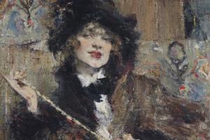 Портрет мадемуазель Подбельской.
