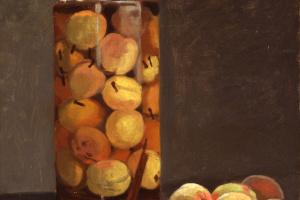 Claude Monet. Jar of Peaches