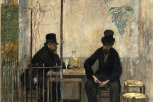 Пьющие абсент