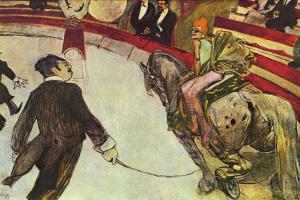 В цирке Фернандо. Наездник