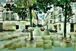 Дэвид Хокни. Площадь Фюрстенберг. Париж. 7-9 августа