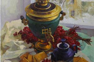 Виктор Довбенко. Чай с калиной.  2017