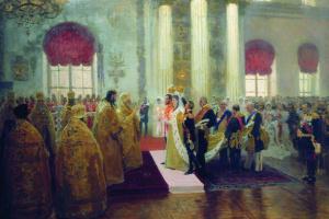 Венчание Николая ІІ и великой княжны Александры Федоровны