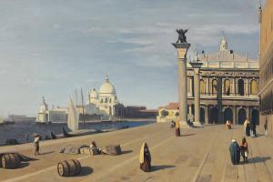 Камиль Коро. Венеция, вид со Славянской набережной