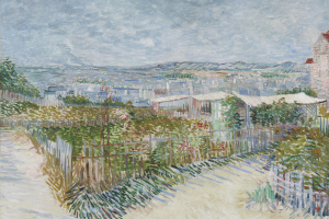 Montmartre, the view from the mills