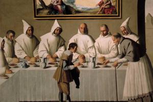 Цикл картин для каретзианского монастыря. Святой Гуго в картезианском монастыре