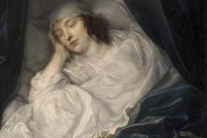 Венеция, леди Дигби на смертном одре
