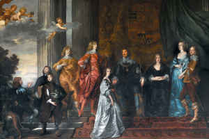 Антонис ван Дейк. Портрет Филипа Герберта, 4-го графа Пемброка, с семьёй