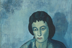 Pablo Picasso. Woman with Bangs