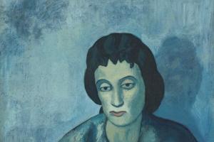 Пабло Пикассо. Женщина с чёлкой