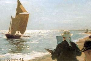 Педер Северин Крёйер. Художники на пляже