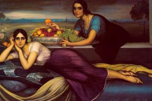 Хулио Ромеро де Торрес. Женщины и фрукты
