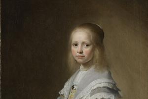 Иоганнес Корнелисзон Верспронк. Портрет девочки в голубом платье