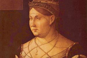 Портрет королевы Кипра Катерины Корнаро