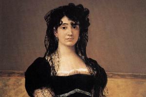 Francisco Goya. Portrait of doña Antonia Zarate