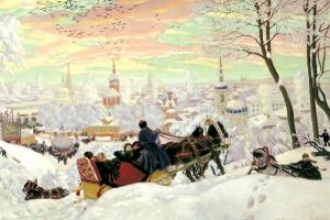 Boris Mikhailovich Kustodiev. Carnival