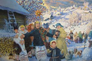 Андрей Николаевич Свинин. Колядки
