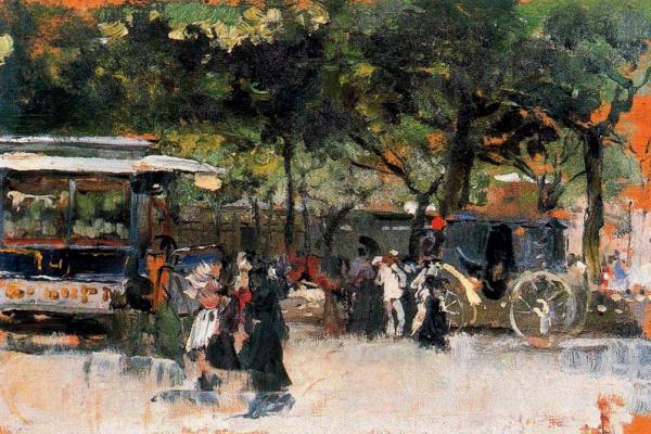 Joaquin Sorolla (Soroya). Neighborhood Of Paris