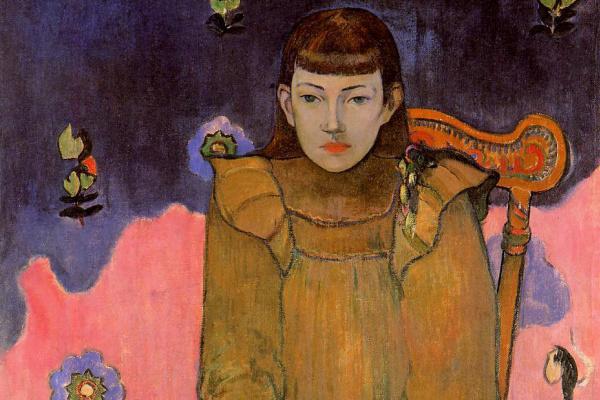 Paul Gauguin. Portrait of a Young Woman (Wet Jean Gupil)