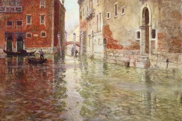 Фриц Таулов. Уголок Венеции