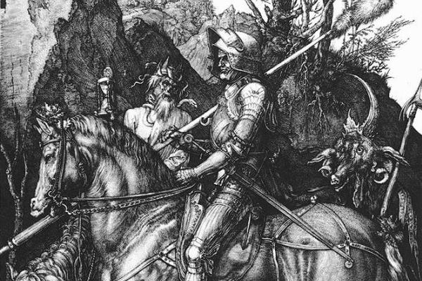 Альбрехт Дюрер. Рыцарь смерти