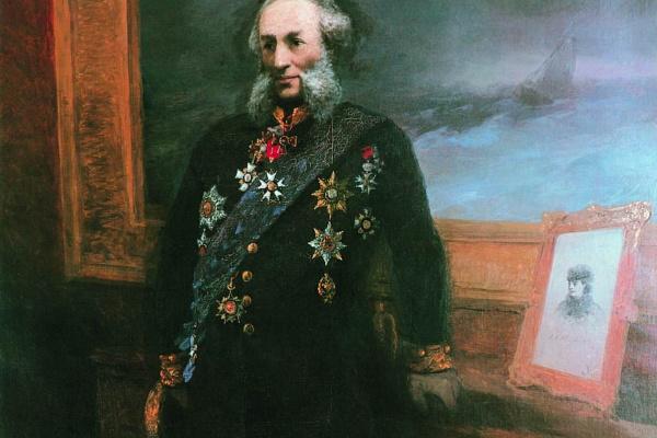 Иван Константинович Айвазовский. Автопортрет