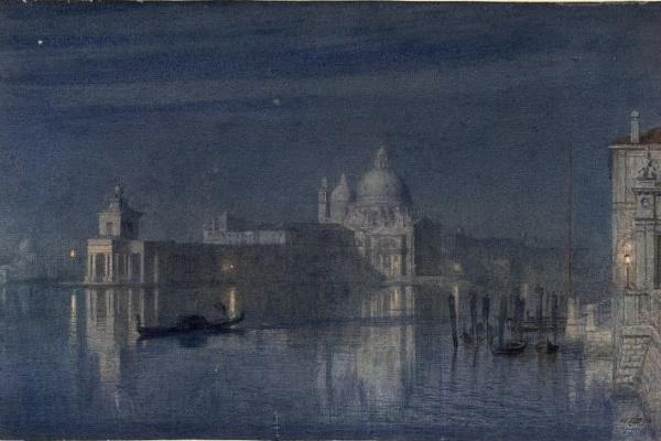 Эдвард Джон Пойнтер. Лунный свет в Венеции