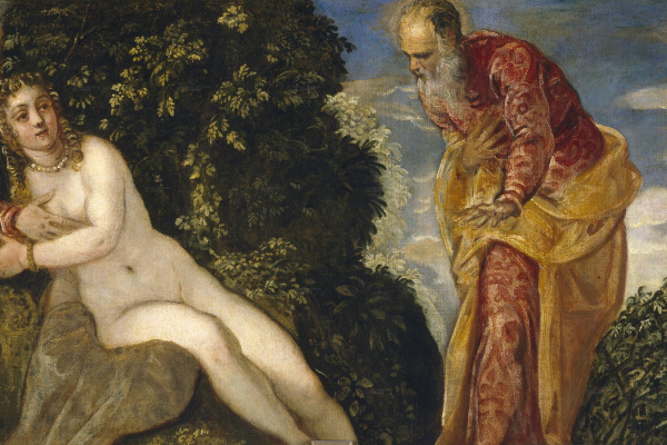 Jacopo Tintoretto. Susanna and the Elders