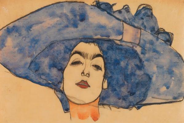 Egon Schiele. Portrait Of Eva Freund