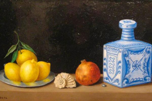 Алексей Викторович Барвенко. Натюрморт с лимоном.  2012