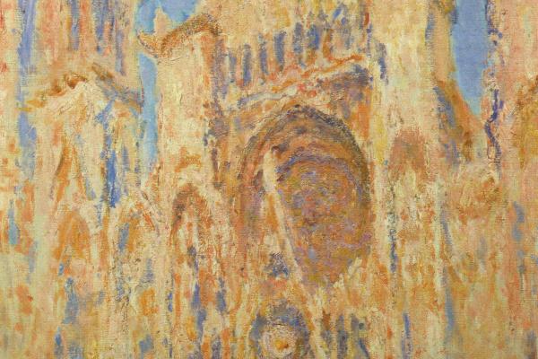 Клод Моне. Руанский собор, закат