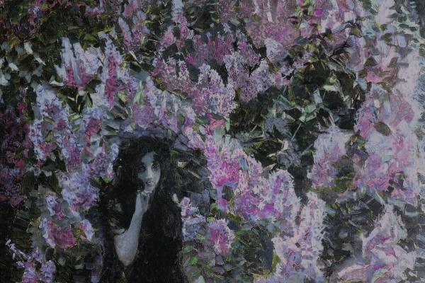 Mikhail Aleksandrovich Vrubel. Lilac
