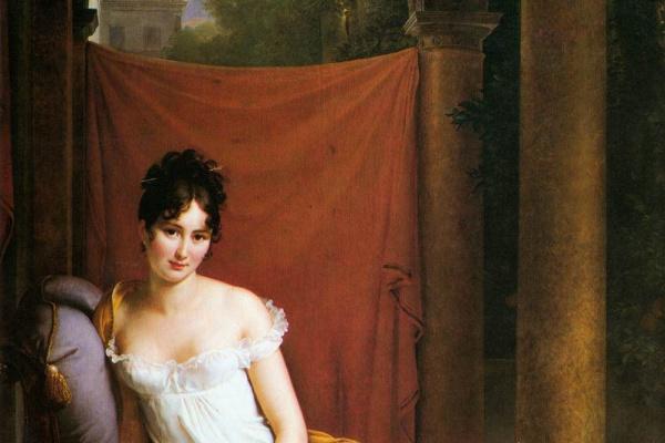 Франсуа Паскаль Симон Жерар. Портрет мадам Рекамье