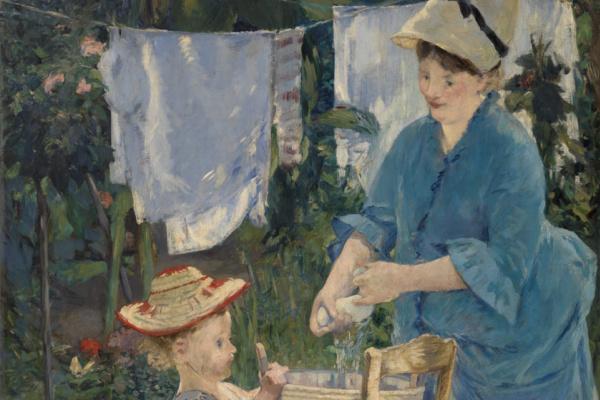 Edouard Manet. Wash