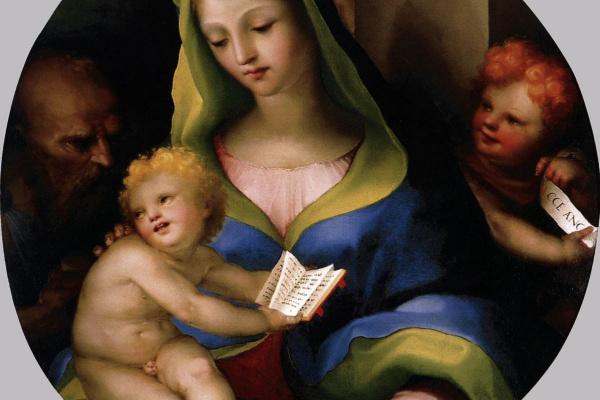 Domenico Beccafumi. Holy family